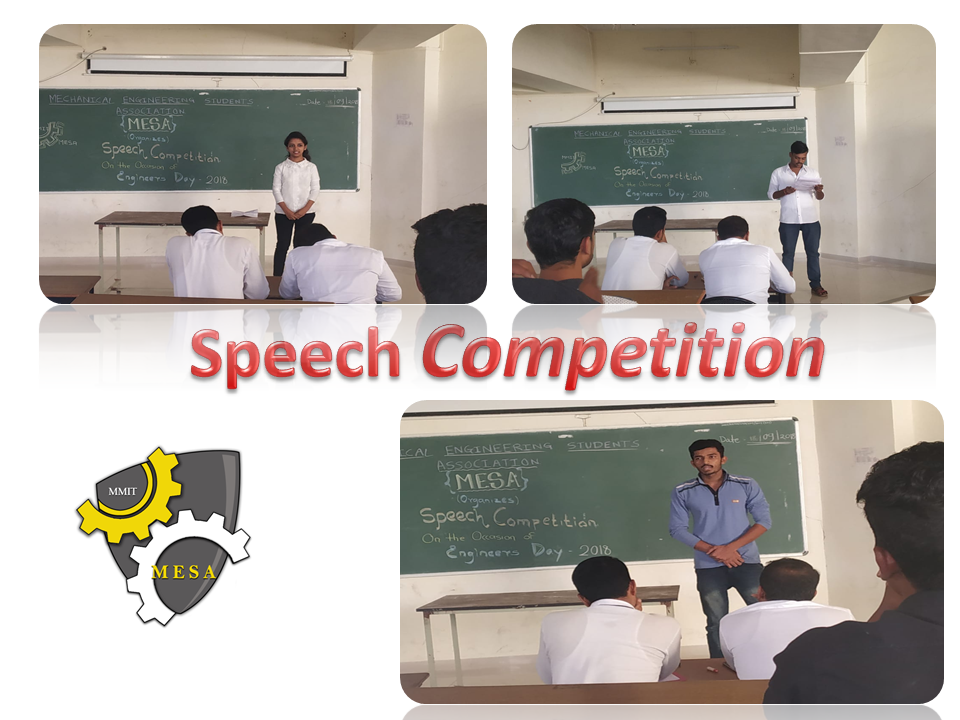 Speech Competition
